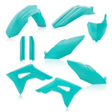 New Acerbis Plastic Kit CRF 450 R X 17-18 CRF 250 R 18 19 Plastics Teal Colour